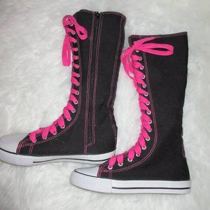 Converse Like Chuck All Star Knee High Sneakers